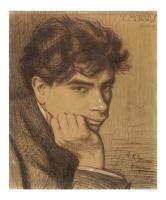 Tomás Morales - Dibujo de Eladio Moreno Duran - 1908 - Dña Amalia - ALTA.jpg